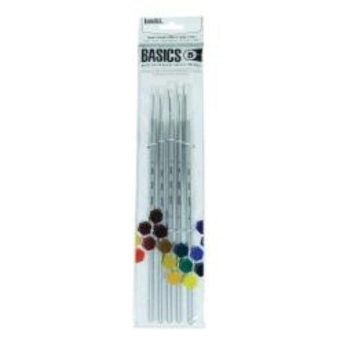 Liquitex Liquitex Basics Penselenset 5 Stuks voor olie en acrylverf