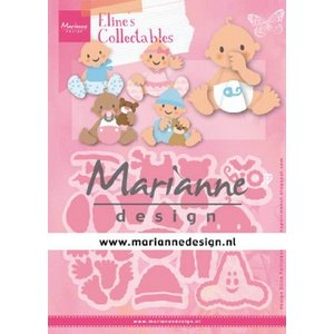 Marianne Design Marianne D Collectable Eline's baby's COL1479 112x97,5mm (03-20)