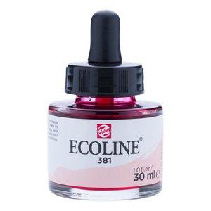 Ecoline Ecoline Vloeibare Waterverf Flacon 30 ml Pastelrood 381