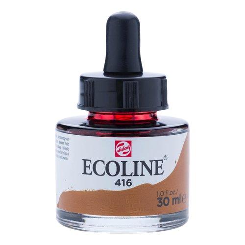Ecoline Ecoline Vloeibare Waterverf Flacon 30 ml Sepia 416