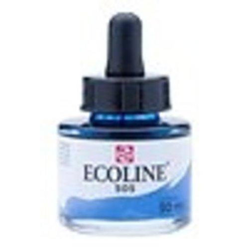 Ecoline Ecoline Vloeibare Waterverf Flacon 30 ml Ultramarijn Licht 505