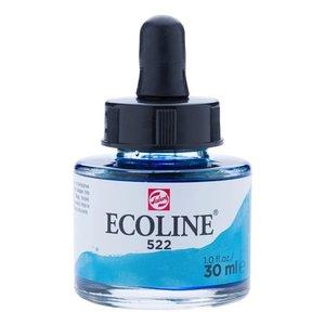 Ecoline Ecoline Vloeibare Waterverf Flacon 30 ml Turkooisblauw 522