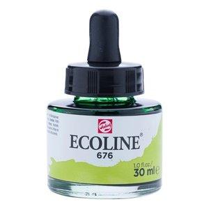 Ecoline Ecoline Vloeibare Waterverf Flacon 30 ml Grasgroen 676