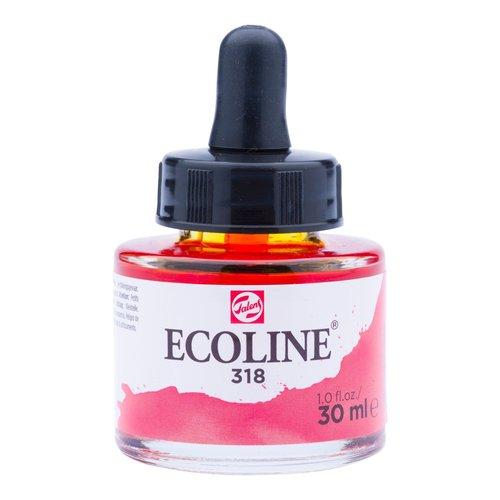 Ecoline Ecoline Vloeibare Waterverf Flacon 30 ml Karmijn 318