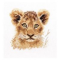 Alisa borduurpakket leeuwen welpje 194