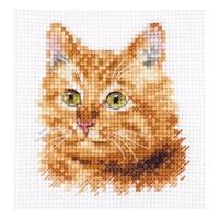 Alisa borduurpakket Ginger Cat S0-207