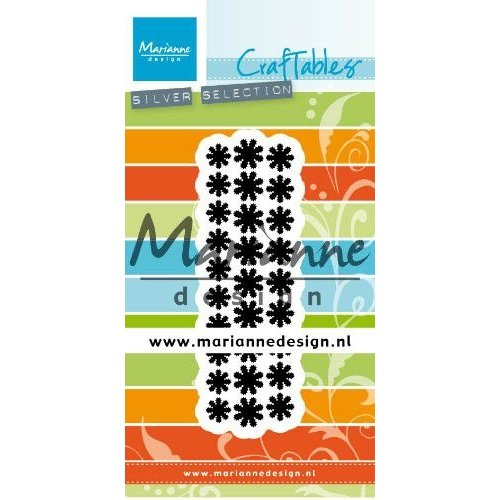Marianne Design Marianne D Craftable Punch die madeliefjes CR1501 28x92mm