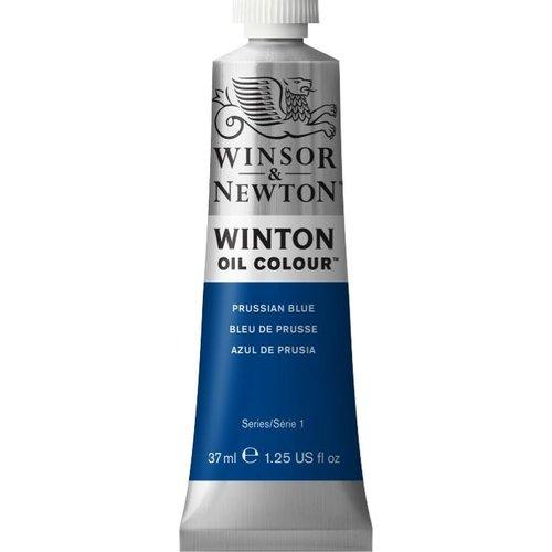 Winsor & Newton Winton olieverf 37 ml Prussian Blue