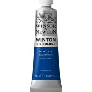 Winsor & Newton Winton olieverf 37 ml Phthalo Blue