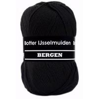 Botter Bergen sokkenwol 100 gram zwart 008