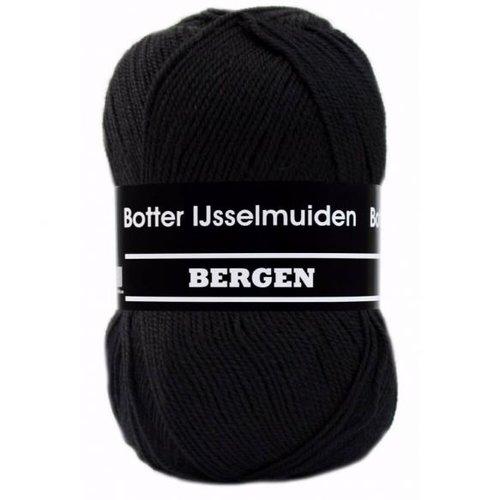 Botter IJsselmuiden Bergen Botter Bergen sokkenwol 100 gram zwart 008
