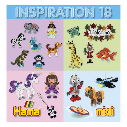 Hama Hama Strijkkralen voorbeeldboekje nr 18
