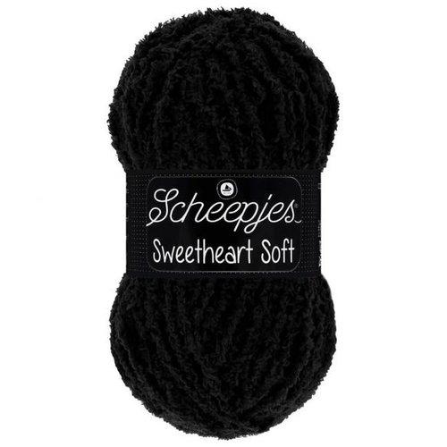 Scheepjeswol Scheepjes Sweetheart Soft 100 gram 004 Zwart
