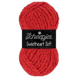 Scheepjeswol Scheepjes Sweetheart Soft 100 gram 011 Rood