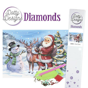 Dotty Designs   Dotty Designs Diamond Painting Kerstman