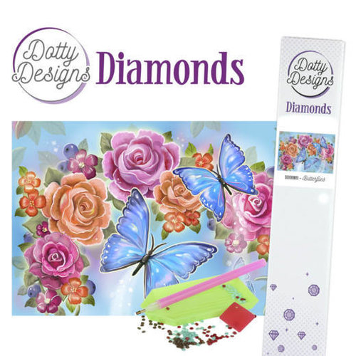 Dotty Designs   Dotty Designs Diamond Painting Butterfly