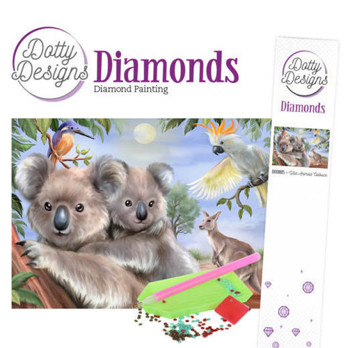 Dotty Designs   Dotty Designs Diamond Painting Koala