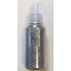 Glitter fijn zilver 15 gram