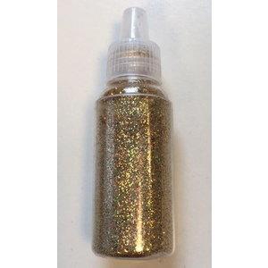 Glitter fijn goud 15 gram