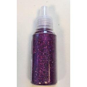 Glitter fijn fuchsia 15 gram