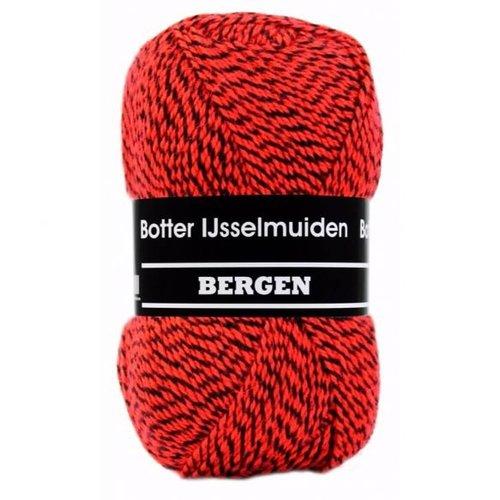 Botter IJsselmuiden Bergen Botter Bergen 100 gram nr 160 rood zwart