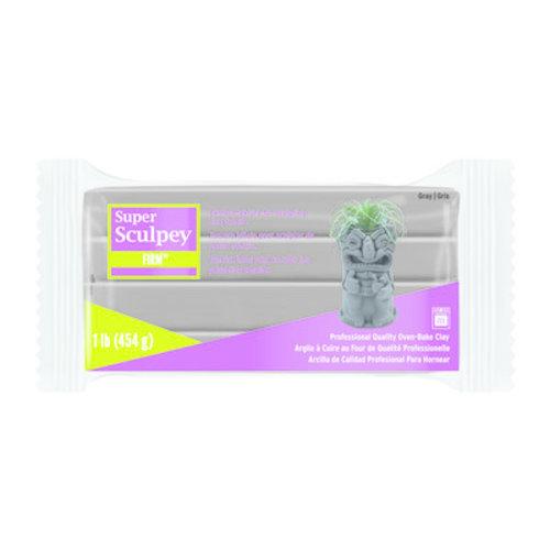 Sculpey Super Sculpey Firm Grijs 454 gram
