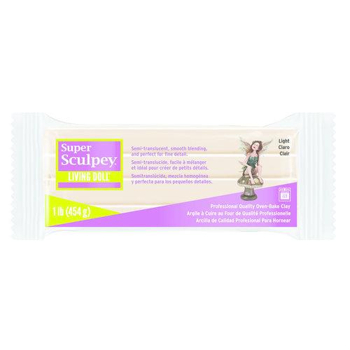 Sculpey Super Sculpey Living Doll Light 454 gram