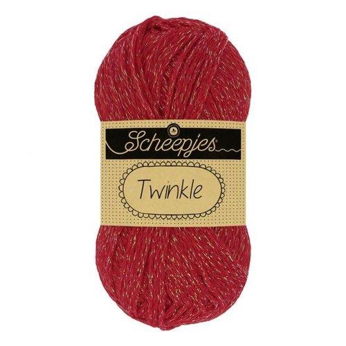 Scheepjeswol Scheepjes Twinkle 50 gram nr 924 rood