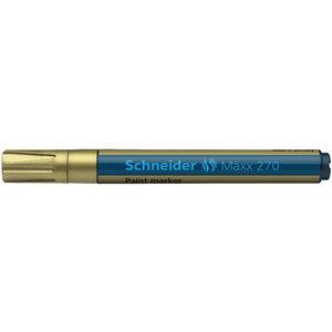 Lakmarker Schneider Maxx 270 1-3 mm goud