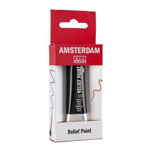 Talens  Amsterdam Relief Verf 20ml Zwar 700