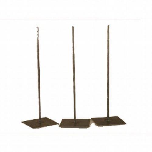 Metalen stander op voet 30 cm