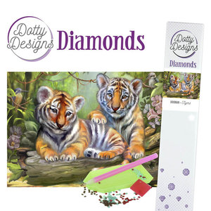 Dotty Designs   Dotty Designs Diamond Painting Tigers