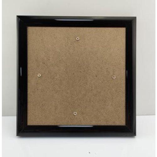 Crystal Art Lijst voor Crystal Art Kaarten 18 x 18 cm Zwart