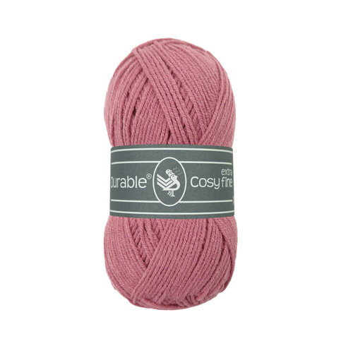 Durable Durable Cosy extra fine Raspberry 50 gram 228