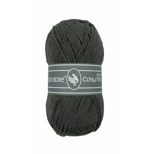 Durable Durable Cosy extra fine Charcoal 50 gram 2237