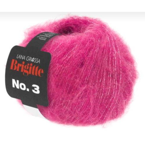 Lana Grossa Lana Grossa Brigitte nr 3 Mohair kleur 28 Roze