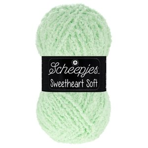 Scheepjeswol Scheepjes Sweetheart Soft 100 gram 018 Groen