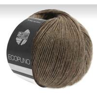 Lana Grossa Ecopuno Donkerbruin 50 gram nr 17