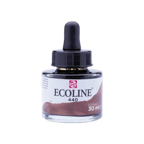 Ecoline Ecoline Vloeibare Waterverf Flacon 30 ml Sepia Donker