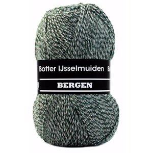 Botter IJsselmuiden Oslo Botter Bergen Sokkenwol 100 gram nr 180 Groen Grijs Bruin