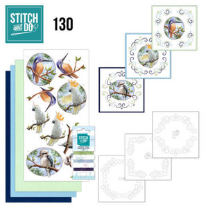 Stitch and Do  Stitch and Do 130 Amy Design Wild Animals Outback