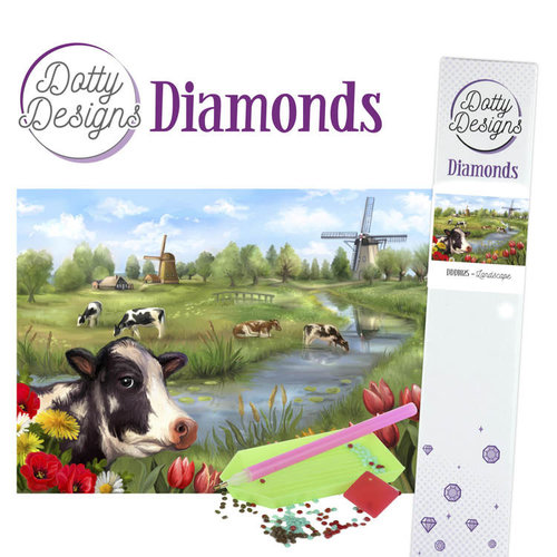 Dotty Designs   Dotty Designs Diamond Painting Landscape