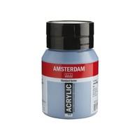 Talens Amsterdam acrylverf 500 ml Grijsblauw 562