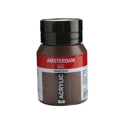 Amsterdam Amsterdam Acrylverf 500 ml Omber Gebrand