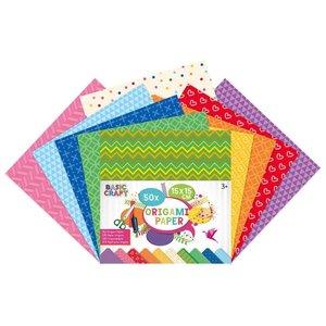 Origami Papier 15 x 15 cm 50 stuks