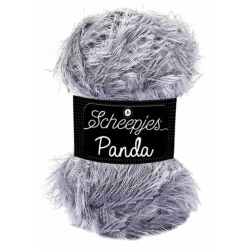 Scheepjeswol Scheepjes Panda 50 gram grijs 583