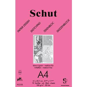 Schut   Schut Tekenblok Dessin 180 gram 70 vel Roze