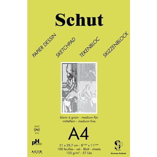 Schut   Schut Tekenblok Dessin 125 gram 100 Vel Groen