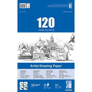 Schut   Schut Artist Drawing Paper 120 gram 30 vel