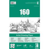 Schut Artist Drawing Paper 160 gram  30 vel